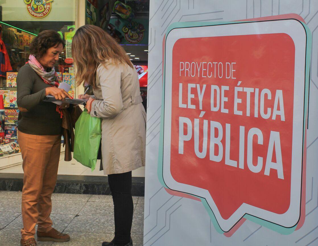 Campaña  Ley de Ética Publica
