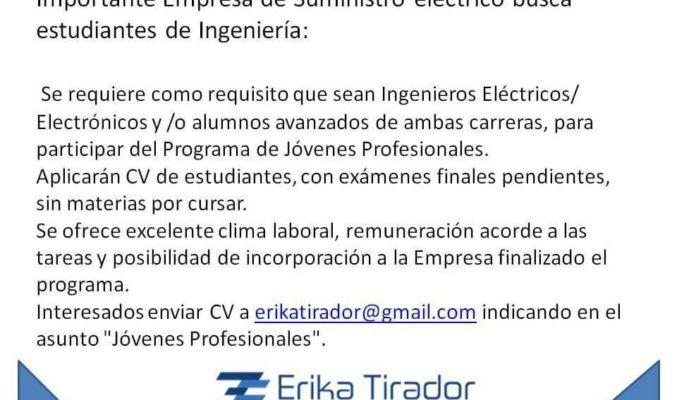 Oportunidad laboral para Ingenieros en Tucuman