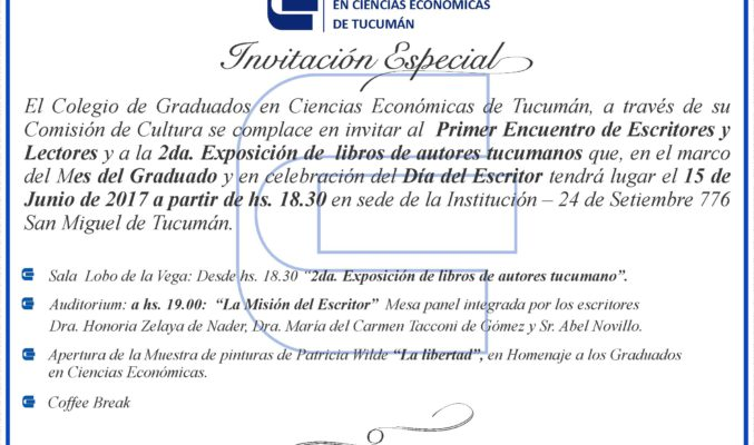 Tarjeta Invitación Especial - Cultural
